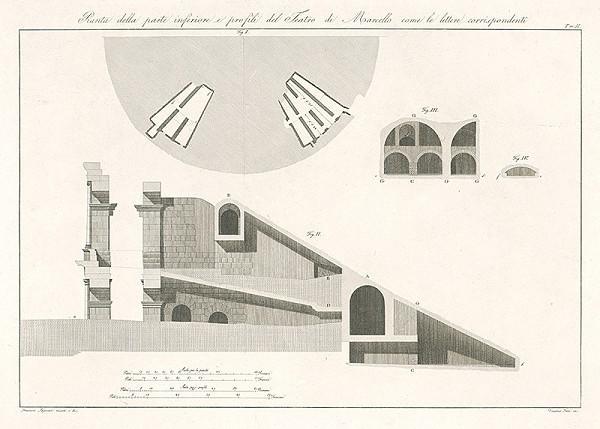 Vincenzo Feoli, Francesco Saponieri – Návrh na divadlo Marcello
