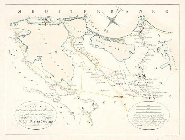 Girolamo Segato – Navigačná mapa