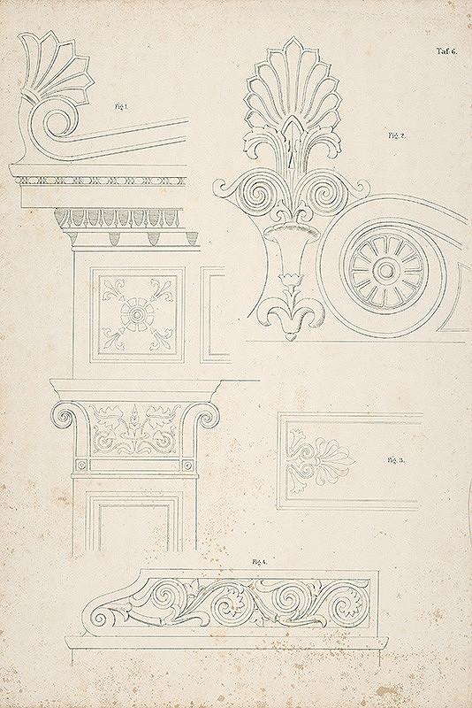 Neznámy autor – Ornamentálne detaily