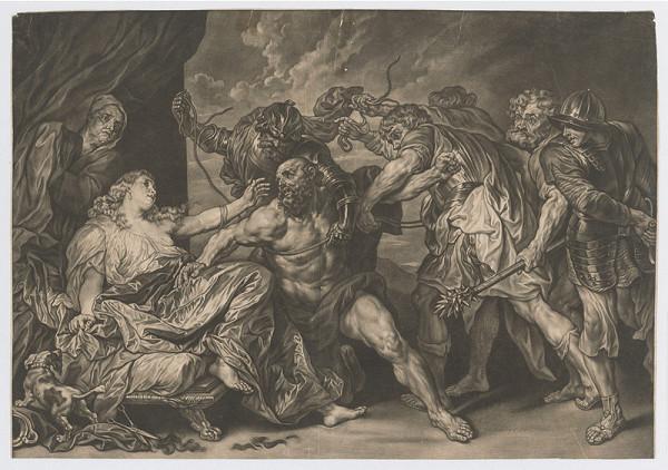 Anthony van Dyck, Jakob Männl – Samson a Dalila