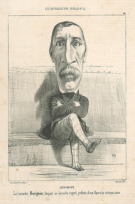 Honoré Daumier – Buvignier