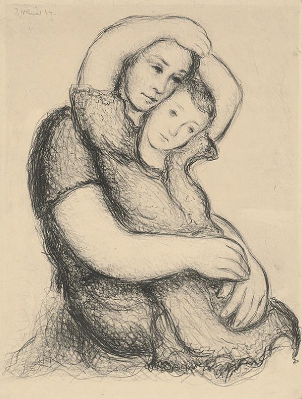 Imrich Weiner-Kráľ – Matka s dieťaťom