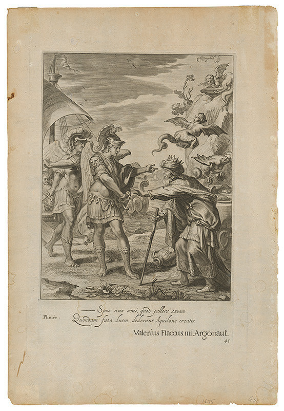 Abraham Jansz. van Diepenbeeck, Neznámy grafik – Ilustrácia z eposu Argonauti Valeria Flacca