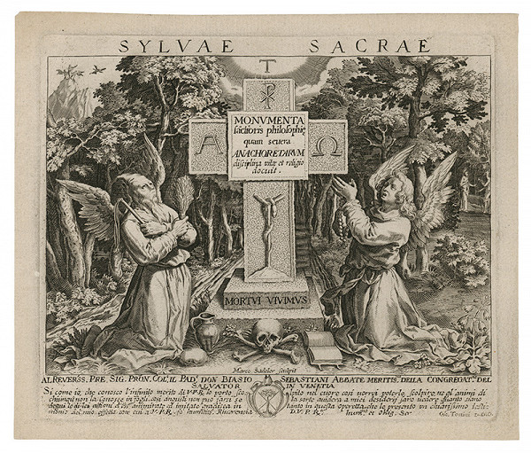 Marcus Sadeler – Náboženská alegorická scéna
