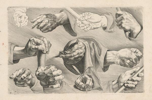 Johann Daniel Herz st. - List č. 5 k druhej časti návodu na kreslenie (Anweisung zum Zeichnen, II/5)