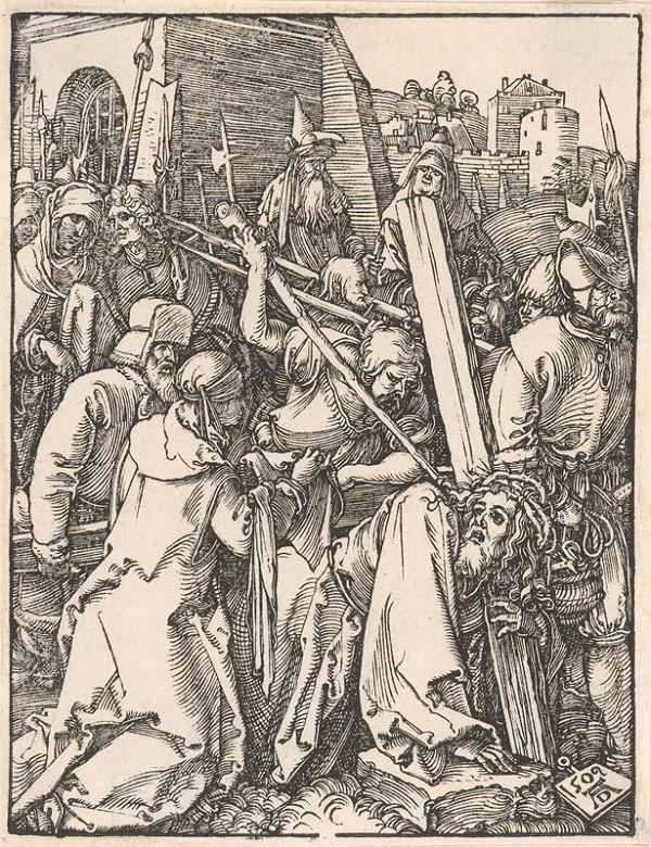 Albrecht Dürer – Kristov pád pod krížom