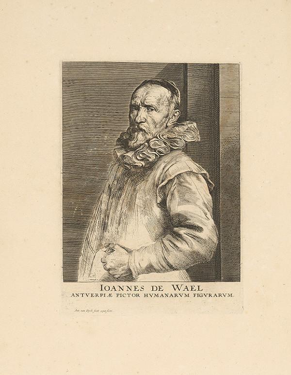 Anthony van Dyck - Portrét maliara Johanna de Wael