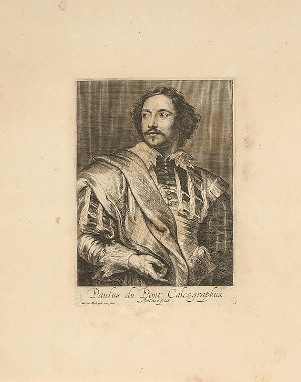 Anthony van Dyck - Portrét maliara Paula Pontia