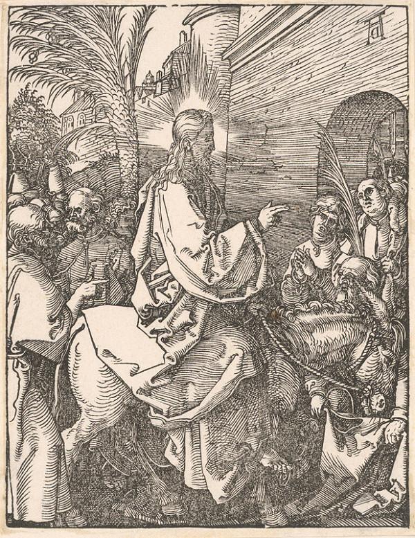 Albrecht Dürer - Vstup do Jeruzalema