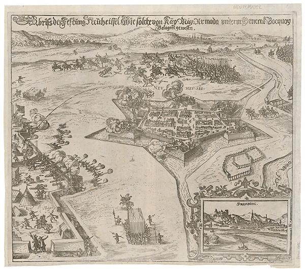 Neznámy grafik – Bitka pri Nových Zámkoch v roku 1621