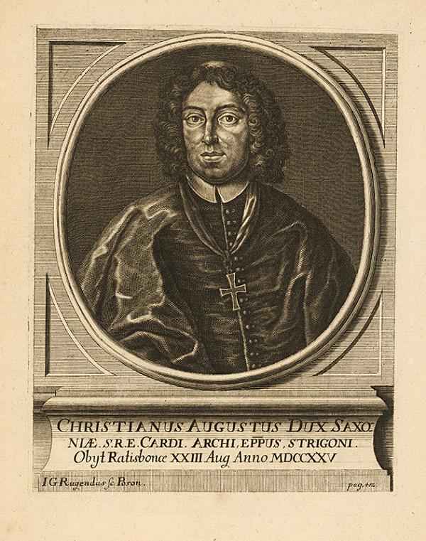Jeremias Gottlob Rugendas – Christian August Saský