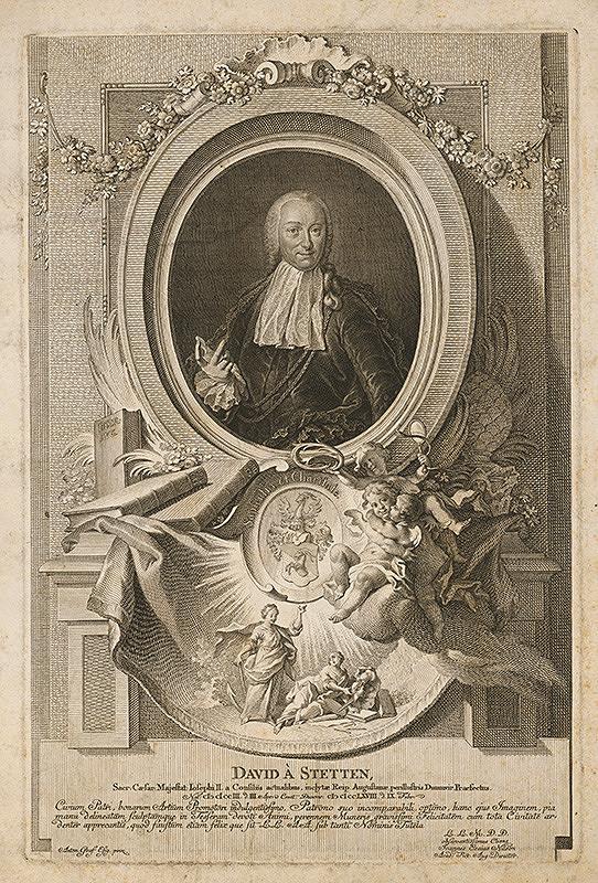 Anton Graff, Johann Esaias Nilson – Portrét Davida von Stetten