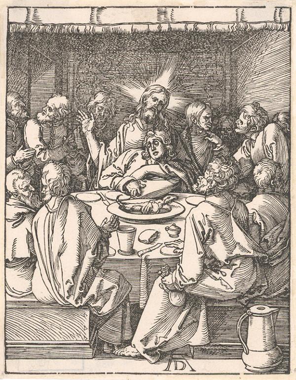 Albrecht Dürer - Posledná večera