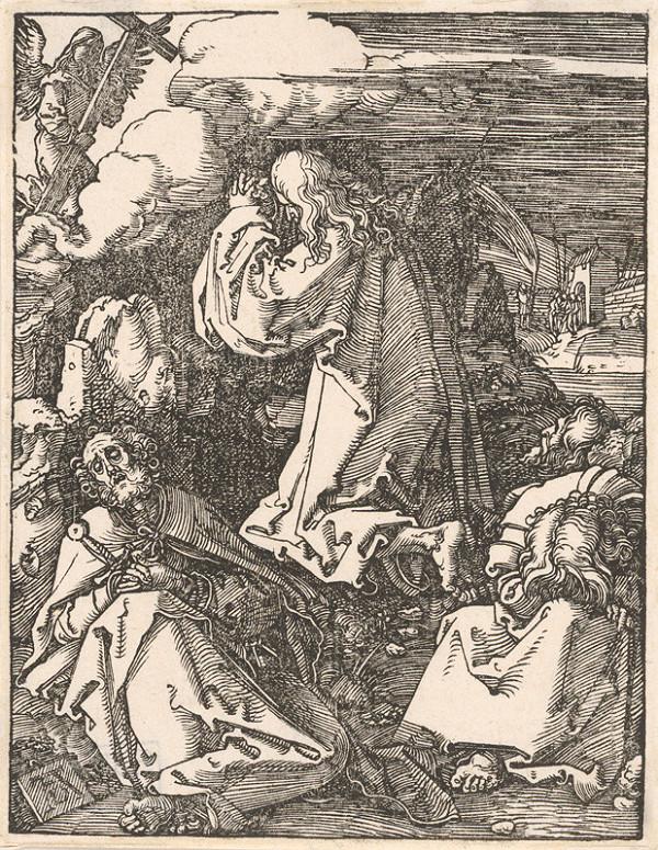 Albrecht Dürer - Kristus na hore Olivetskej