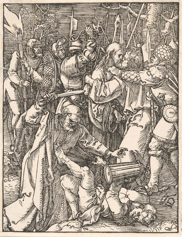 Albrecht Dürer – Judášov bozk
