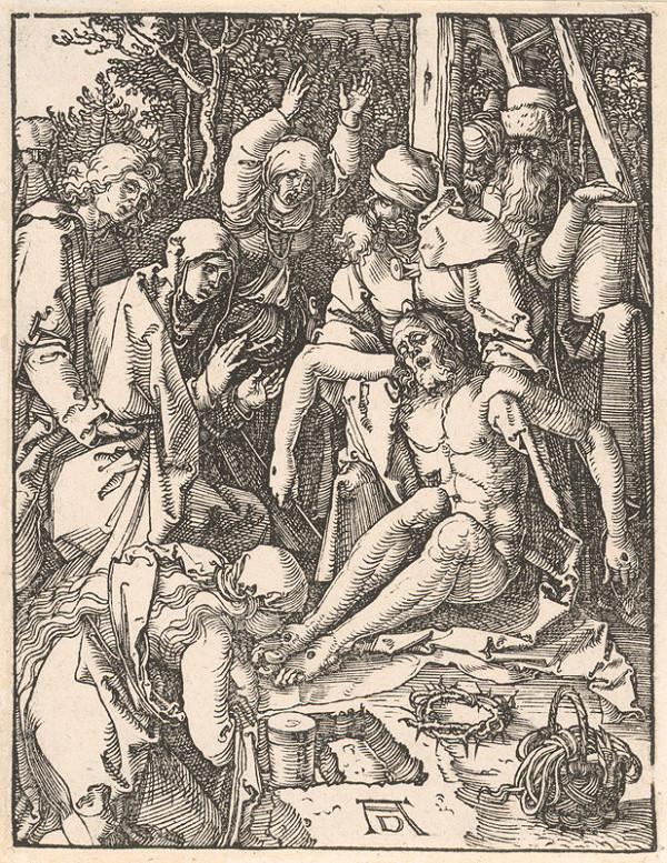 Albrecht Dürer – Oplakávanie Krista