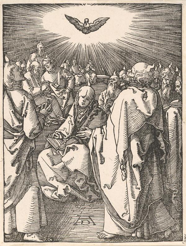 Albrecht Dürer - Zoslanie Ducha svätého