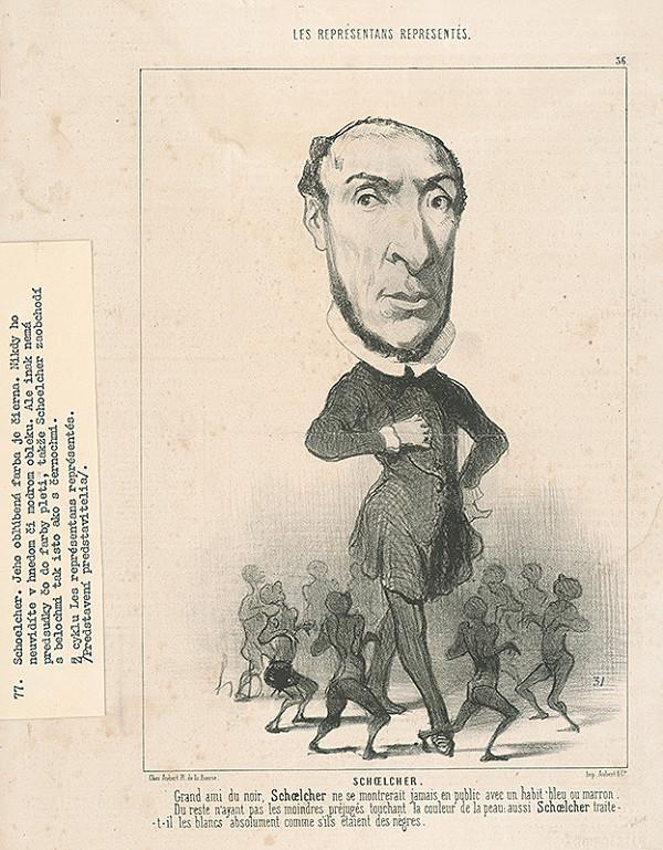 Honoré Daumier - Schoelcher