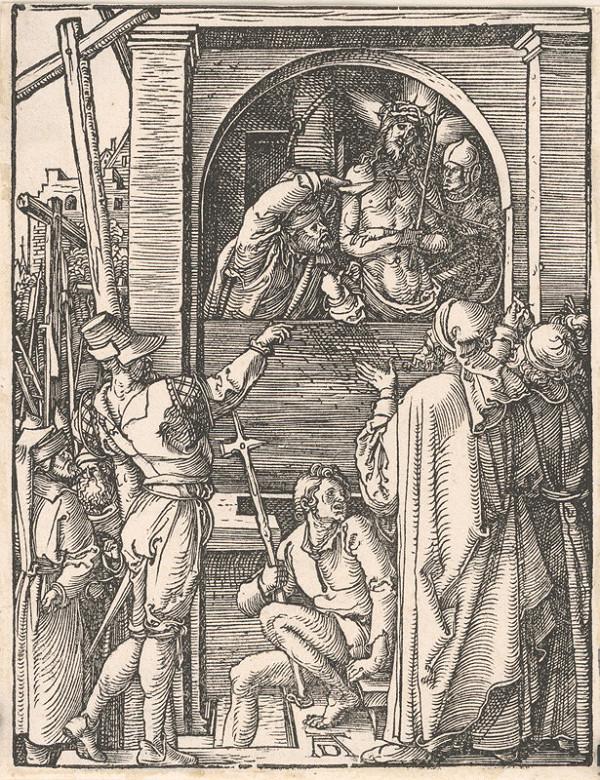 Albrecht Dürer – Ukazovanie Krista