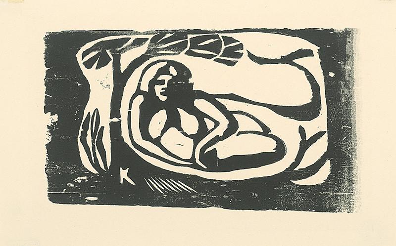Paul Gauguin – Žena, 1890 – 1903, Slovenská národná galéria