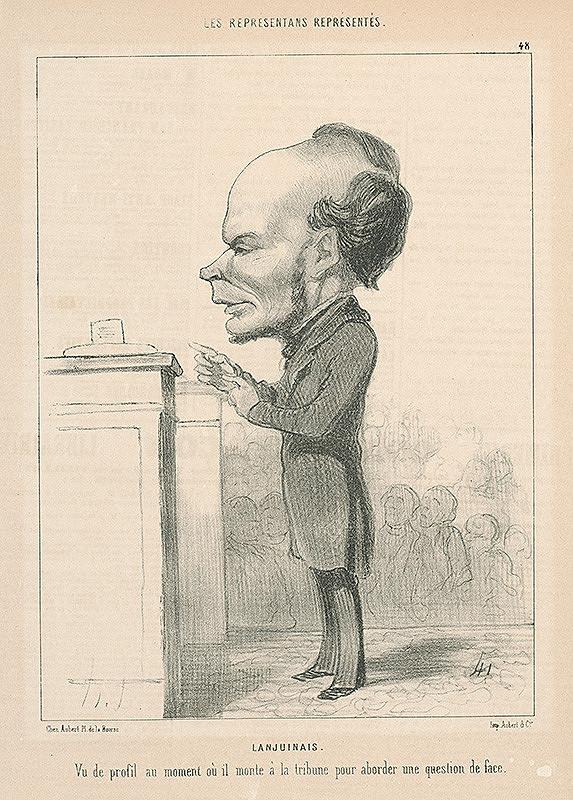 Honoré Daumier – Lanjunais