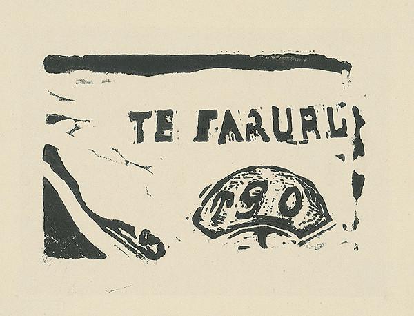 Paul Gauguin – Fragment drevorezu
