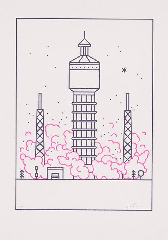 Michaela Chmelíčková – Space Rocket (Vodojem v Trnave) I.