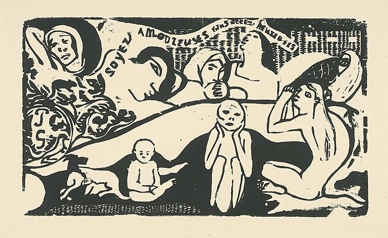Paul Gauguin – Soyez amoureuses vous serez heureuses, 1890 – 1903, Slovenská národná galéria