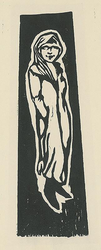 Paul Gauguin – Stojace dievčatko
