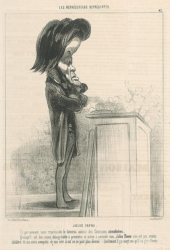 Honoré Daumier - Jules Favry