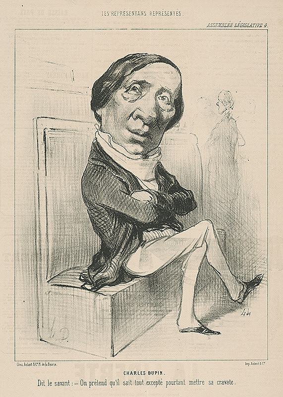 Honoré Daumier - Charles Dupin
