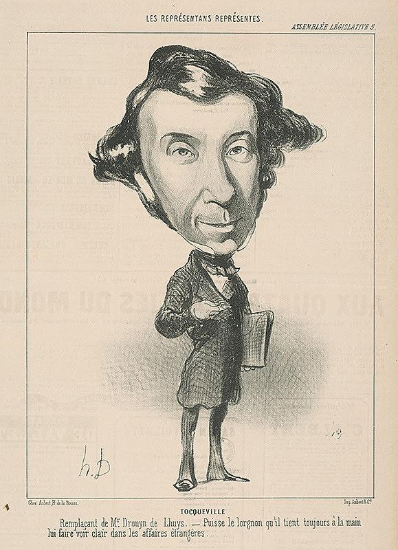Honoré Daumier – Tecqueville
