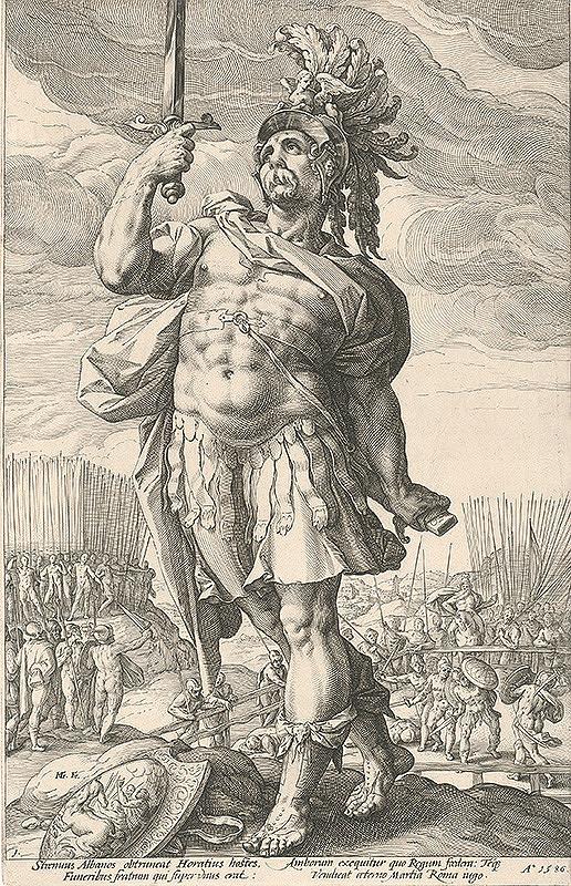 Hendrick Goltzius – Publius Horatius (1)