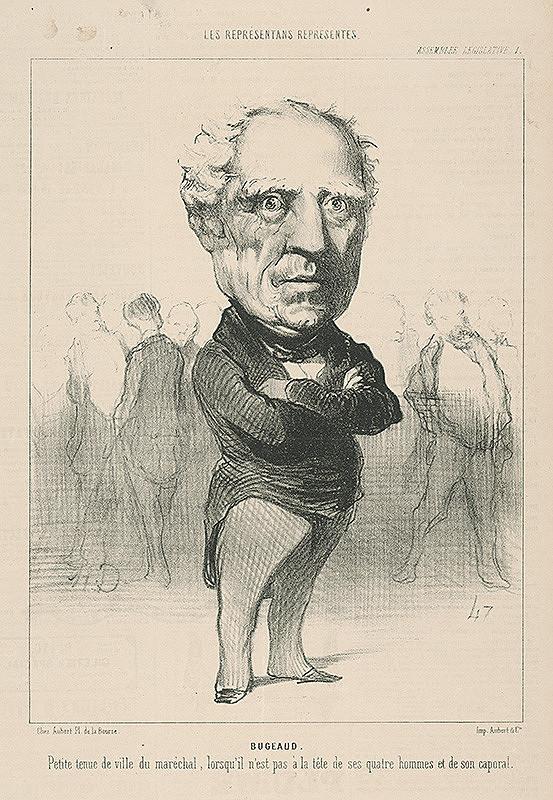 Honoré Daumier – Bugeaud