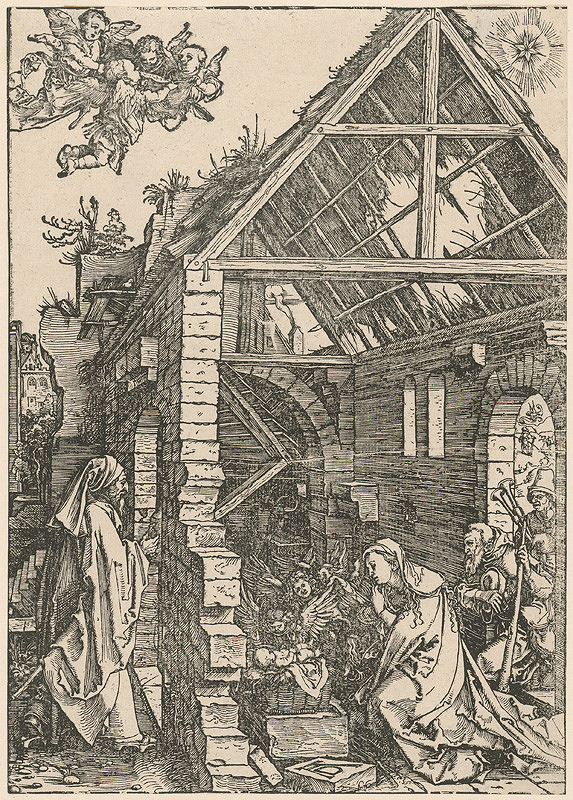 Albrecht Dürer - Narodenie Krista
