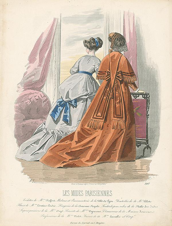 *, Francois Claudius Compte-Calix, Atelier Lacouriere – Les Modes Parisiennes. Modely Mme Pieffort