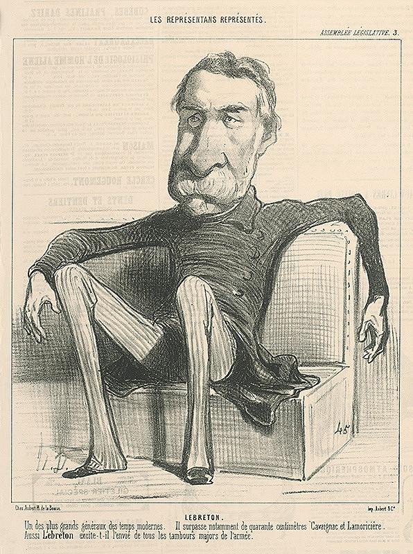 Honoré Daumier - Lebreton