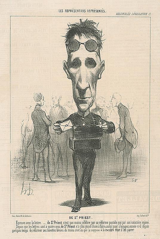 Honoré Daumier - De St. Preist