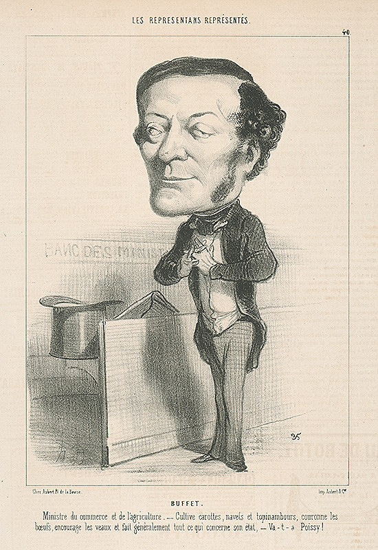 Honoré Daumier - Buffet