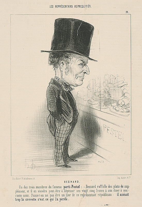 Honoré Daumier – Besnard