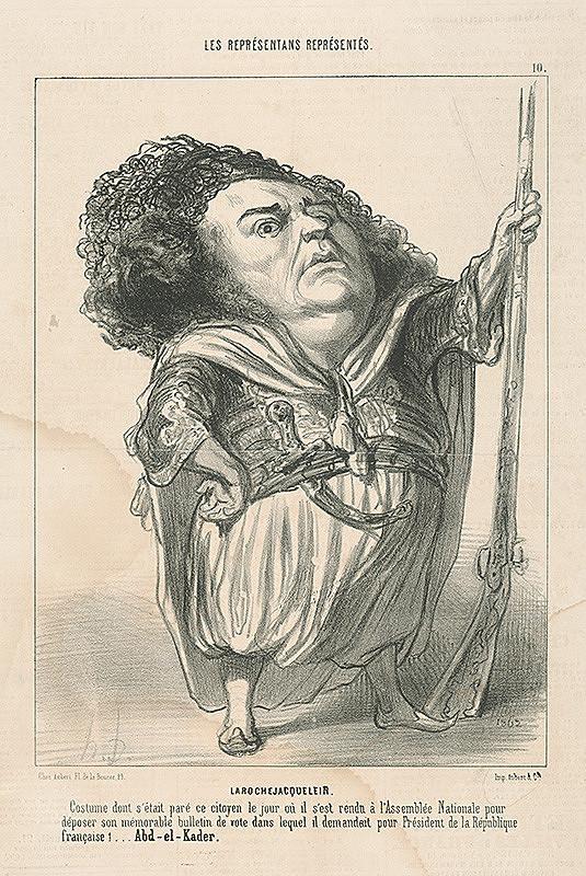 Honoré Daumier - Larochejacquelein