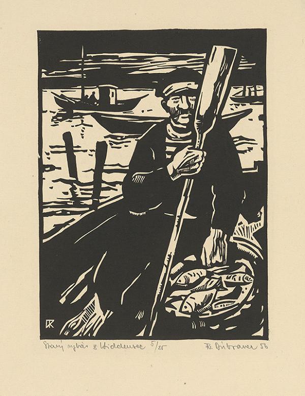 Róbert Dúbravec – Starý rybár