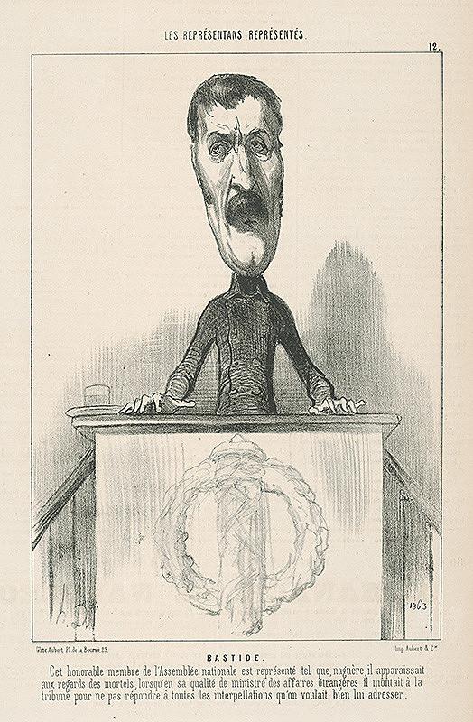 Honoré Daumier - Bastide