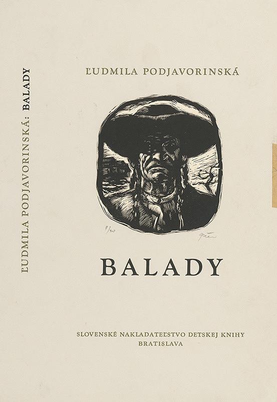 Tibor Gáll – Balada Ľ.Podjavorinskej,Obálka