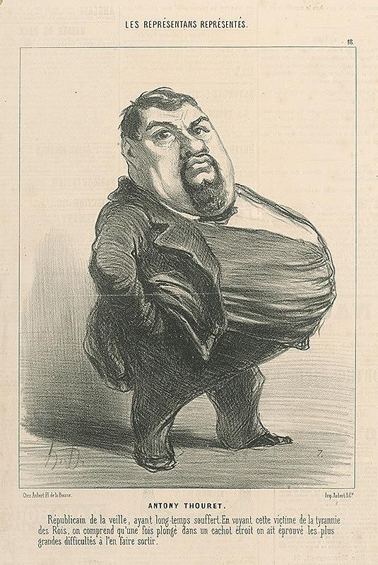 Honoré Daumier – Anthony Thouret