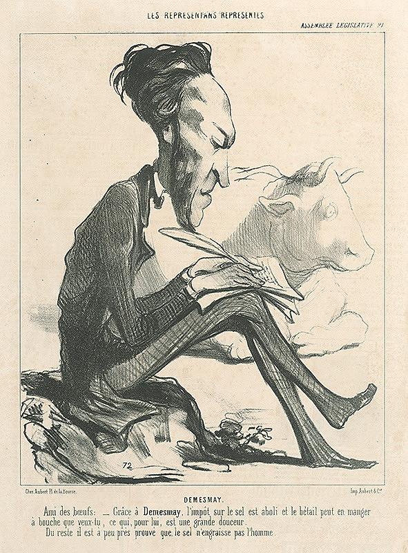 Honoré Daumier - Demesmay