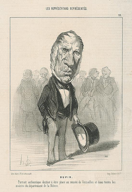 Honoré Daumier – Dupin