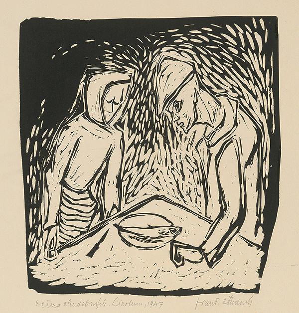 František Studený – Večera chudobných