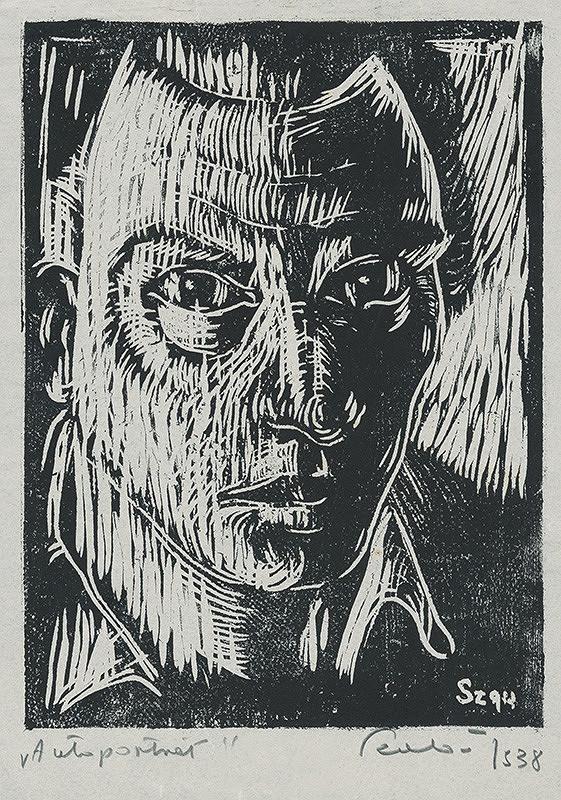 Július Szabó – Autoportrét