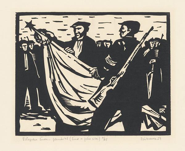 Róbert Dúbravec – Víťazstvo ľudu-Február 48